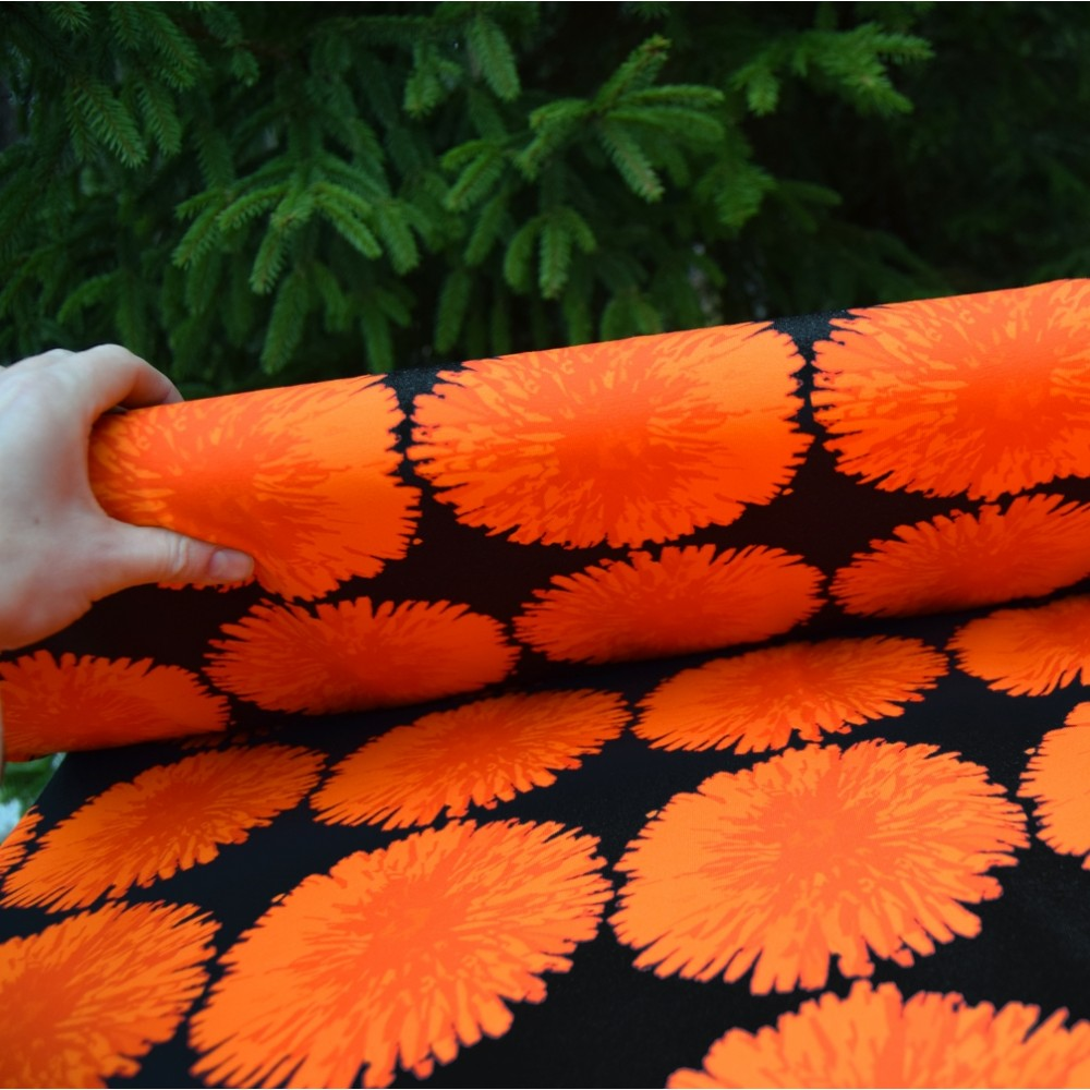 VOIKUKKA luomutrikoo, oranssi