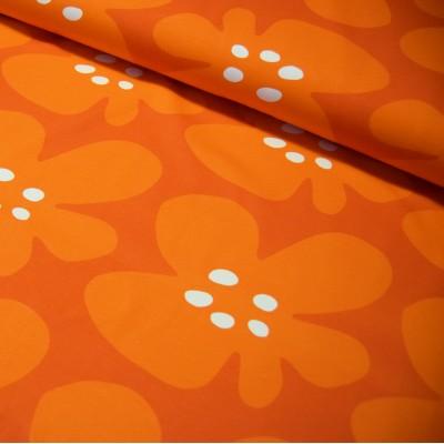 ISO VUOKKO luomutrikoo, oranssi