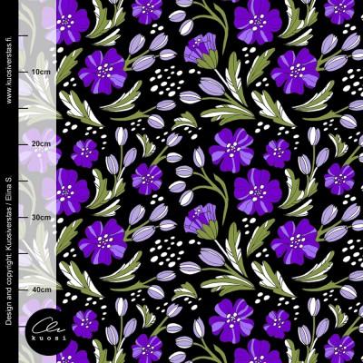 KURJENPOLVI luomutrikoo, violetti