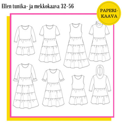 ELLEN TUNIKA- JA MEKKOKAAVA