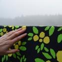 TALVIOMENA luomutrikoo, kelta-musta-vihreä